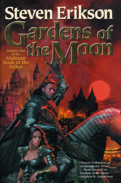 sf reviews net gardens of the moon steven erikson
