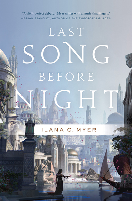SF REVIEWS NET: Last Song Before Night / Ilana C  Myer