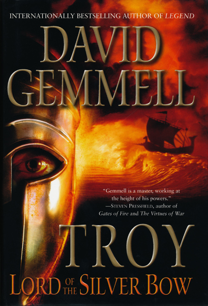 Sf Reviews Net Troy Lord Of The Silver Bow David border=
